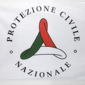 bandiera protezioen civile Italia